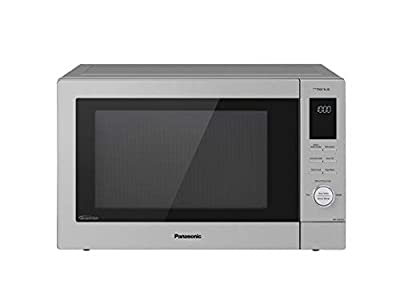 Panasonic NN-CD87KS Home Chef 4-in-1 Microwave Oven with Air Fryer, Convection Bake, FlashXpress Broiler, Inverter, 1000 Watt, Stainless Steel, 1.2 Cu.Ft, cft (Renewed)