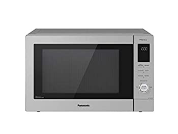Panasonic NN-CD87KS Home Chef 4-in-1 Microwave Oven with Air Fryer Convection Bake FlashXpress Broiler Inverter 1000 Watt Stainless Steel 1.2 Cu.Ft cft  Renewed