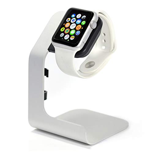 Apple Watch Stand-Tranesca Apple Watch charging stand for Series 6 / Series 5 / Series 4 / Series 3 / Series 2 / Series 1 and Apple Watch SE; 38mm/40mm/42mm/44mm (Must have Apple watch Accessories)
