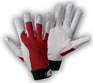 haggiy Montage-Handschuh aus Nappaleder, Größe: L