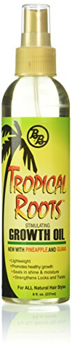 Bronner Brothers Tropical Roots Growth Oil, 8 Ounce by Bronner Brothers