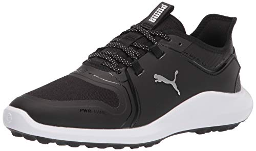 PUMA Ignite Fasten8 - Zapatos de Golf para Hombre, Color Negro, Talla 39 EU Weit