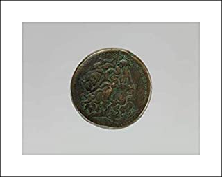 Ptolemaic Period - 20x16 Art Print by Museum Prints - Coin of Ptolemy II from a Ptolemaic Hoard