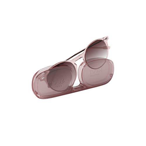 Nooz Gafas de sol polarizadas para hombre y mujer - Protección de categoría 3 - Color Cuarzo - con estuche compacto - Colección CRUZ