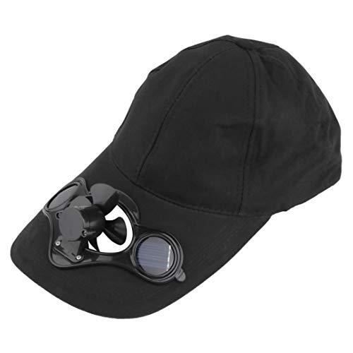 Swiftswan Sommer-Sonnen-Sonnenhut-Hut-Kappe des Kühlens im Freien kühlender Ventilator für Golf-Baseball-Sport