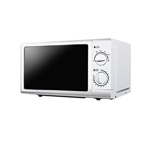 Best Review Of JINRU 700W Glass Turntable Retro Countertop Microwave Oven 5 Microwave Power Level Mi...