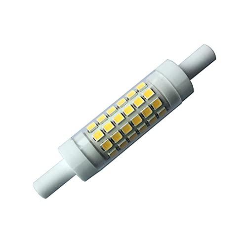 Cerámica de atenuación R7SLED230V5W600LM Lámpara 15 * 78mm-Blanco frio_MEDIO