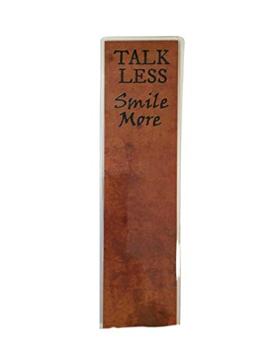 Fandom Emporium Hamilton Talk Less Smile More Broadway Notepad Journal Decal Sticker Button Bookmark Writing Drawing Stationery Set - Bookmark