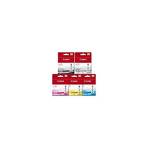 Canon LUCIA Ink Value Pack PGI-9 PBK multipacco - cartuccia toner - 1 x giallo, ciano, Magenta, Nero pigmentato, pigmentato Gray, 1034B011