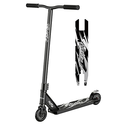 Sanview Pro Stunt Scooters Freestyle for Kids Boys Girls Teens Black