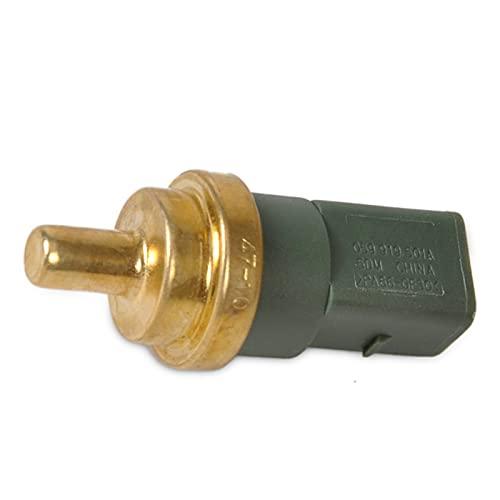 ZHANGJIN Sensor de Temperatura del refrigerante de 4 Pines con Clip & Plug Fit para Jetta Golf Passat Beetle Audi A4 TT 059 919 501 A, 059919501A
