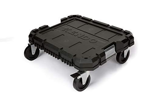 KENDO Systemkoffer - Rollbrett - Für KENDO Systemkoffer - Grösse: 53 x 43 x 18 cm - Rollen mit Verriegelungsfunktion