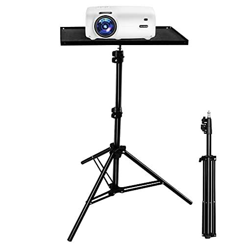 Beamer Ständer, VILINICE Beamer Stativ Projektorständer, Tragbarer Verstellbarer Laptop-ständer