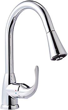 AmazonBasics AB-KF709-PC Pull-Down Kitchen Faucet