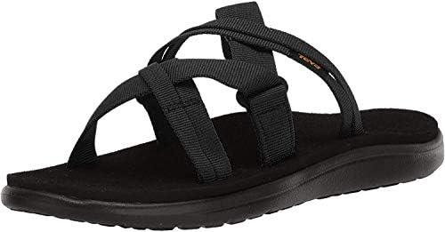 Teva Women s W VOYA Slide Sandal Black 10 Medium US product image