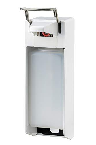 All Care 8040 MediQo-line Distributeur de savon en aluminium avec levier court Blanc 1000 ml