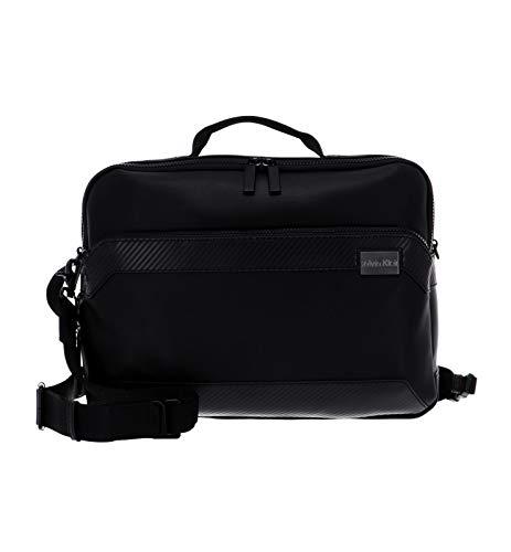 Calvin Klein Convertible Laptop Bag Black