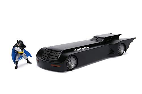 Jada Toys - 253215007 - Batman Animated Series Batmobile 1:24