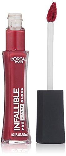 L'Oreal Paris Cosmetics Infallible Pro-Matte Gloss, Rouge Envy, 0.21 Fluid Ounce