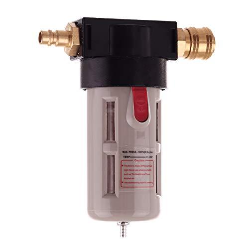 Perslucht Onderhoudseenheid filter persluchtfilter 1/2 voor compressor slagmoersleutel snelkoppeling