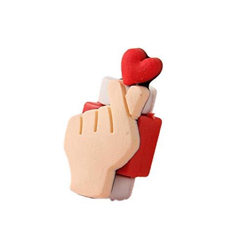 Ynnxia Data Kabel Beschermer Oortelefoon Kabel Beschermer USB Kabel Beschermer Zachte Silica Gel Cartoon Beschermt Accessoire voor Apple iPhone iPad heart S