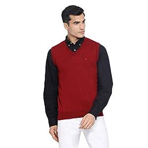 Monte Carlo Men's Wool V-Neck Sweater 4
