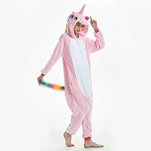 Pijama Unicornio Adulto Invierno Pijamas de Animales ...