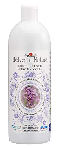 Helvetia Natura - Savon Douche Lavande 1L - Lot de 3
