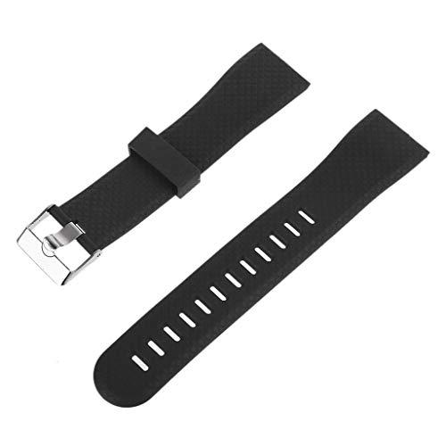 unknows - Correa de repuesto de silicona para reloj 116 Plus