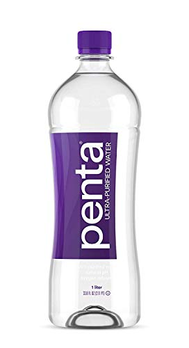 Penta Ultra-Purified Water, 1L (Pack of 12), Oxygen Infused...