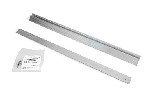 attwood SP-15100 Swivl-Eze Bench-Style Aluminum Utility Jon Boat Seat Mount Plate, Set of 2