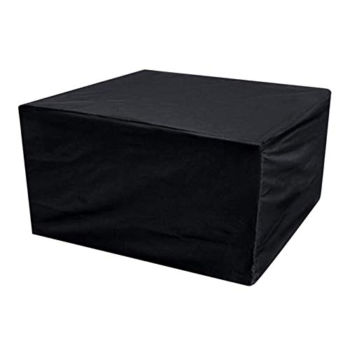 Garden Furniture Cover, Rectangular/Square Patio Table Cover, Waterproof, Anti-UV, Upgraded Tear-Resistant 210D Oxford Outdoor Rattan Patio Furniture Cover Large (250*250*90)