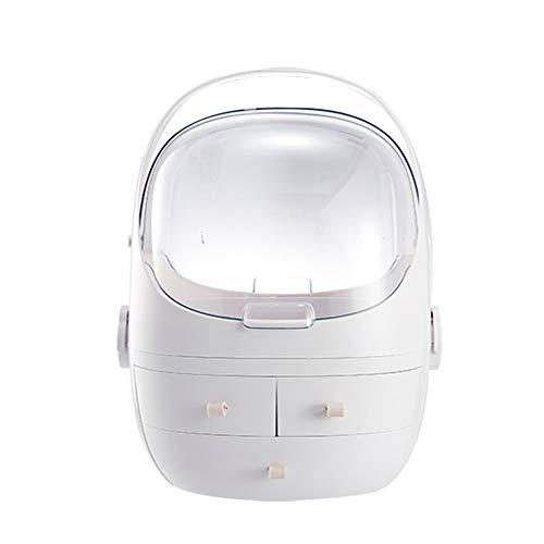 SunAll Make-up Veranstalter Aufsatz- kosmetischer Speicher-Display-Boxen 4 Schubladen Passend for Kosmetik, Make-up Display-Caddy Regal Organisation Boxen Fall for Schminktisch oder Arbeitsplatte