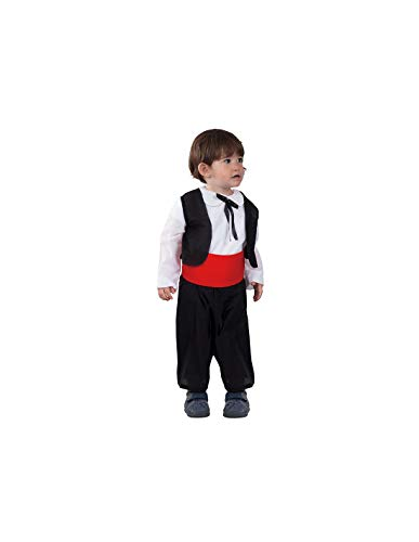 DISBACANAL Disfraz Regional bebé - -, 2 años