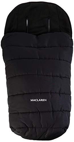 Maclaren Saco para silla de paseo universal, color negro, con cremallera