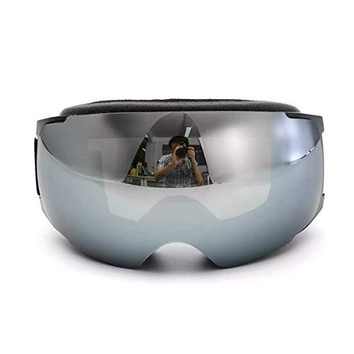 OutingStarcase. Skibrille UV-Schutz Snowboard Magnet Anti-Fog Doppel-Objektiv schwarzen Rahmen Motorradteile Motorrad-Werkzeug