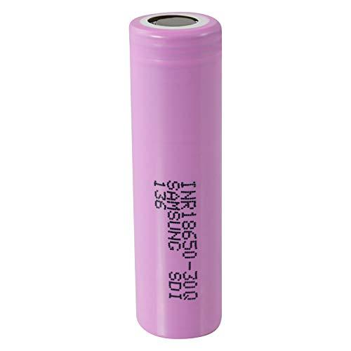 1 (Samsung) 30Q 18650 3000 mAh Akkus INR für E-Zigarette Batterien Akku Dampfen Akkus für dampfer E-Zigarette + Akkubox