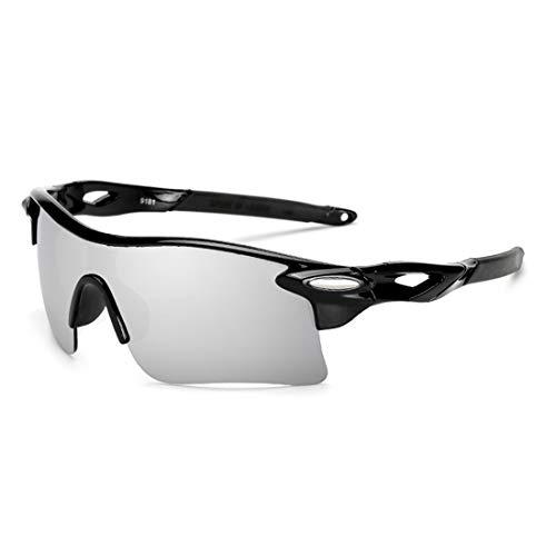 XIAOTANBAIHUO Anteojos Deportes al aire libre polarizados Gafas de ciclismo Gafas de sol Gafas de protección UV for montar Conducción Pesca Gafas de sol de golf Gafas de protección UV Protección de ga
