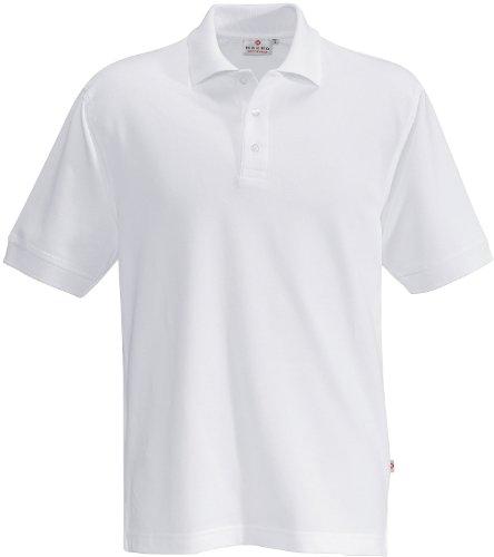 HAKRO Polo-Shirt Top - 800 - weiß - Größe: XL