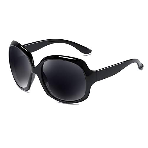 WMAO Oversized Polarized Sunglasses for Women, Women's Sunglasses UV400 Protection Retro Eyewear