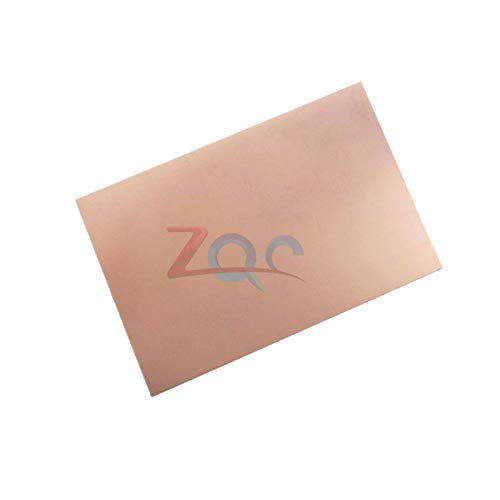 70x105x1.5mm FR4 Copper Clad Laminate Sheet Circuit Double Side PCB 10.5X7cm