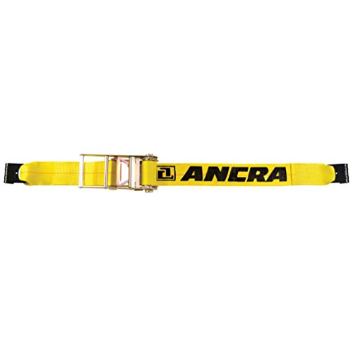5,400-Pounds Working Load Limit Ancra 43795-10-40 Winch Strap with Flat Hook 4-Inch by 40-Feet