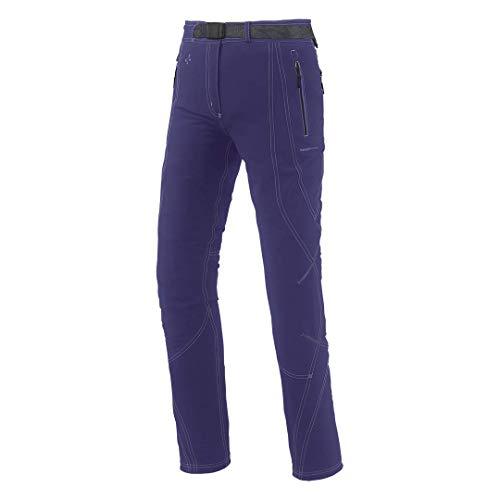 Trangoworld Ample Pantalon Long pour Femme M Violet foncé
