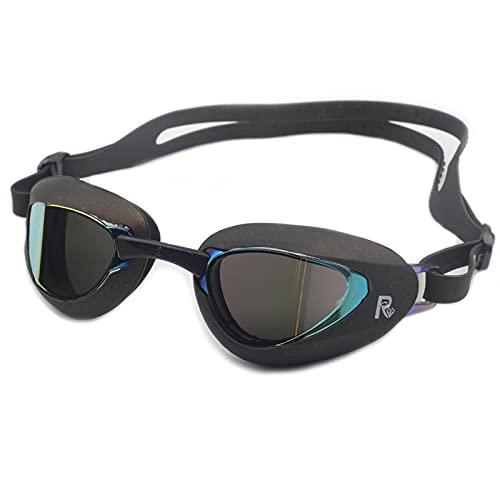 Gafas de natación Gafas De Natación Adulto Niño Anti Niebla Protección UV Impermeable Profesional Piscina Gafas Gafas DeBuceo Negro