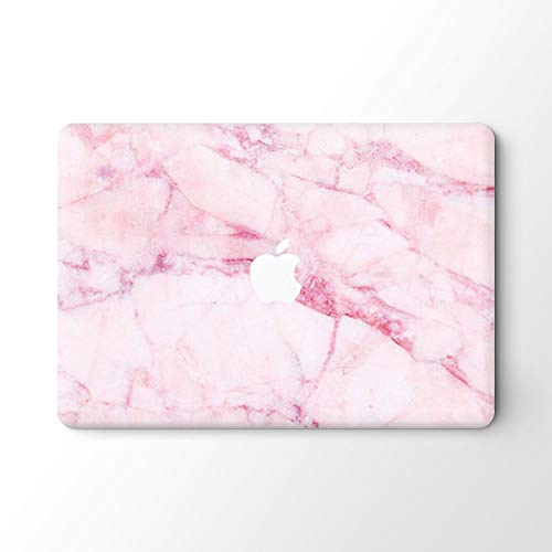 DowBier MacBook Decal Vinyl Skin Sticker Cover Anti-Scratch Decal For Apple Macbook (MacBook Pro 13'/Inch Retina(A1425,A1502), Pink Marble)