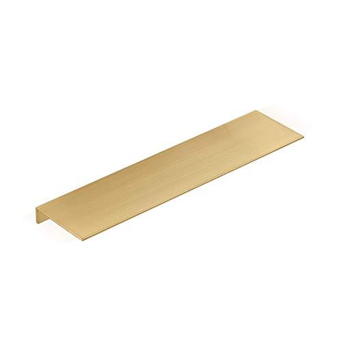 HJW Praktische opbergrek Huishoudelijke Plank Stand Aluminiumlegering, Gouden Drijvende Plank Display Stand voor Badkamer, Woonkamer, Slaapkamer 1Huiyang-01020,50Cm