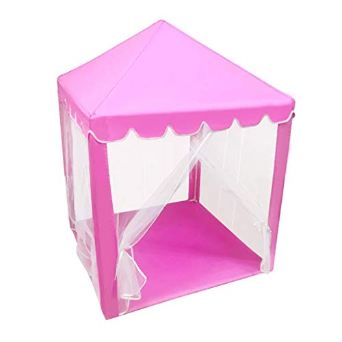 Tents Multifunctional Play, Bedroom Playhouse for Child, Children's Reading Corner Kindergarten 4-corner Teepee - Tipi for Toddlers (Color : B, Size : 100 * 100 * 135CM)