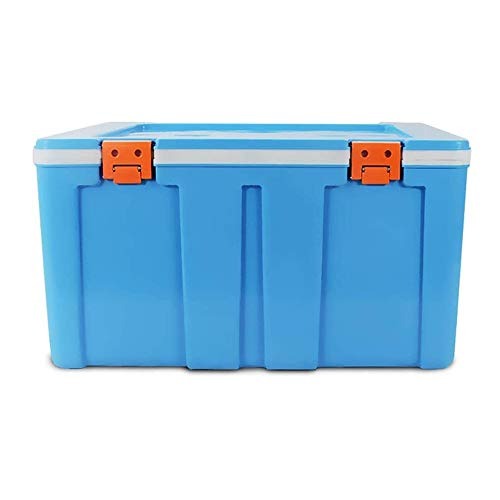 WNN-URG Outdoor Ice Bucket Incubator - Refrigerated Box Outdoor Refrigerator Takeaway Portable Cold Storage Fresh Fishing Box (color : Red) URG (Color : Blue)