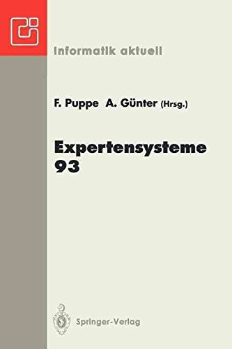 [(Expertensysteme 93)] [Edited by Frank Puppe ] published on (February, 1993)