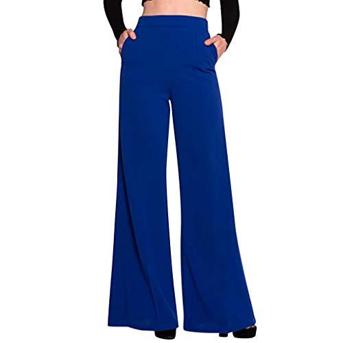 Donne Yoga Danza Sport E Casuale Pantaloni Larghi del Piedino Corno Pantaloni